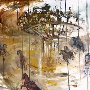 Carrousel         huile sur toile          2010