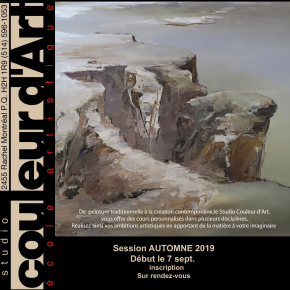 INSCRIPTION AUTOMNE 2019